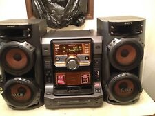 Sony Compact Stereo System LBT ZX66i 5 Disc Changer Speakers