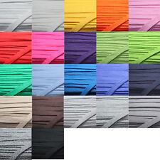 1m - 6m (1,49 €/m) Flachkordel Hoodie 15mm Baumwolle 22 Farben - Schnur Kordel