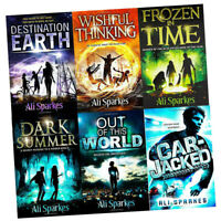 Ali Sparkes 6 Books  Collection Set pack Dark Summer, Frozen in Time NEW