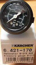ORGINAL KARCHER MANOMETER PRESSURE GAUGE 315 BAR HDS