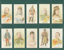 NOSTALGIA CLASSICS - SET OF 20 - TADDY & CO. ' ROYALTY  ACTRESSES  &  SOLDIERS '