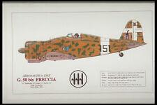 419093 Aeronautica Fiat G50 Bis Freccia A4 Photo Print