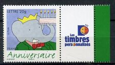 TIMBRE PERSONALISE N° 3927A **  BABAR / LOGO LES TIMBRES PERSONNALISES