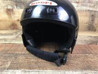Boeri Child Ski Helmet Youth Size Small 52-53 cm Black Myto Air EN 1077
