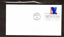 FDC First Day Envelope stamp # 2598 29 Cent Eagle 1994