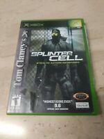 Tom Clancy's Splinter Cell Microsoft XBOX Ubisoft