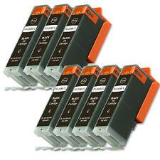 7 BLACK Quality Printer Ink for Canon PGI-250 PGI-250XL MG5420 MG5422 MG5522
