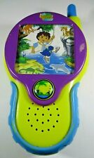 "Go Diego Go Walky Talky 15cm by 8cm or 6"" by 3.4"". Pre-owned."