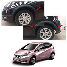 Fits Nissan Versa Note 17 18 Fender Flares Wheel Arch Matte Black Full V1