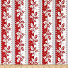 Winter Berries Holly Stripe Cotton Fabric Red  Andover By  the Yard Bfab