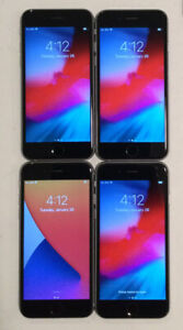 LOT OF FOUR TESTED CDMA + GSM UNLOCKED AT&T APPLE iPhone 6S, 16GB PHONES A120J
