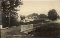 Kingfield ME Bridge c1910 Real Photo Postcard