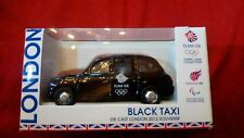 ROUTEMASTER Corgi Mattel 2012 London Taxi Cab Official olympics -union jack
