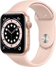 Reloj de Apple serie 6 GPS 40mm/44mm (GOLD) de aluminio, color de rosa arena Sport banda) (byfedex