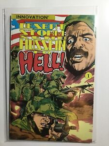 Desert Storm Send Hussein To Hell Near Mint Nm Innovation