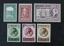 CKStamps: Belgium Stamps Collection Scott#B586-B591 Mint NH OG