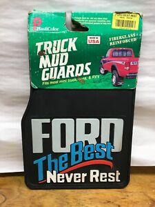 Vintage Ford Mini Truck Mud Flaps Splash Guard Ford The Best Never Rest Van Rv