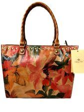 New ListingPatricia Nash Nwt Zancona Tote/Shoulder Bag Leather Spring Multi Msrp $249