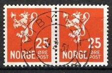 Norway 1946-49, NK 354 Pair Son Kviby i Alta 9-2-51 (FI)