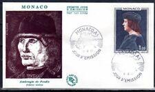 MONACO FDC - 735 1 - TABLEAU DE LUCIEN GRIMALDI par DE PREDIS - 7 Decembre 1967