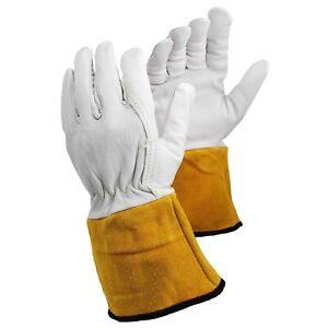 ArmaDEX TIG Welding Heat Resistant MIG Welders Protective Work Gauntlet Gloves  