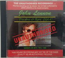 JOHN LENNON Precious And Rare ( Vol. 4) Unauthorised CD Made In Aus 1993