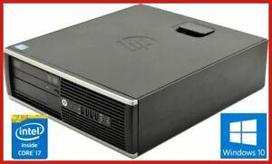 HP 8200 INTEL CORE i7 3.4GHZ 4GB 500GB HDD DVDRW WIN 10 PRO