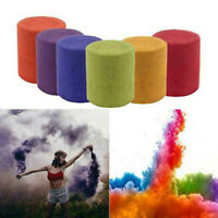 3pcs Smoke Cake Colorful Smoke Effect Show Round Bomb Stage Photography Aid