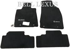 Lexus Oem Factory Floor Mat Set 2004-2006 Rx330 2007-2009 Rx350 (Black) (Fits: Lexus)