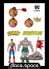 DC iconos Doomsday Superman Muerte Superman Deluxe Action-Figura 2 Pack