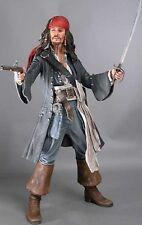Pirates Of The Caribbean Captain Jack Sparrow 18 Inch Figure Neca