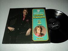 CLAUDE FRANCOIS DOUBLE LP FRANCE SUPER HITS J'ATTENDRAI