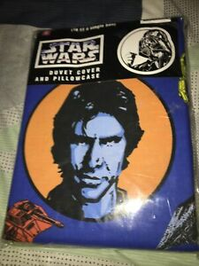Vintage 1997 Star Wars Single Duvet Cover And Pillow Case set In Packaging