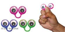 Sureshot Assorted Googly Eye Monster Look Finger Puppets toy - 4 finger puppets