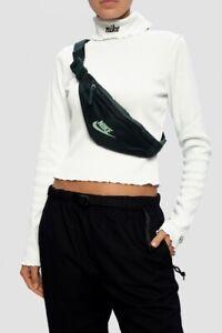 Nike Heritage Hip Pack Waist Bag Fanny Pack Dark Green CV8964-364