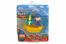 Fisher Price MIKE THE KNIGHT BATH BUDDIES Figurines Toys Squirt Dragon Boat NEW
