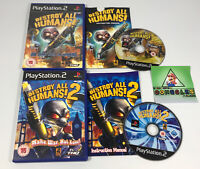 Destroy All Humans 1 And 2 Ps2 Game Bundle