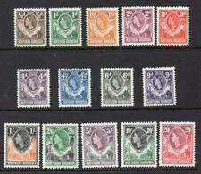 Northern Rhodesia 1953 MNH  SET SG 61-74 Cat. £75