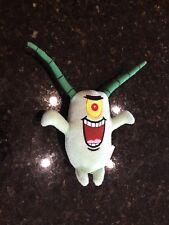 Spongebob Squarepants Plankton Stuffed Animal Plush Toy With Bendable Antennaes