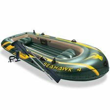 Intex Seahawk 4 4-person Inflatable Boat Set with Aluminum Oars
