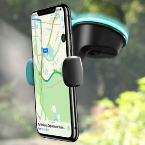 Universal 360 Rotatable Car Mobiles Phone Holder Windshield Small Bracket Mount
