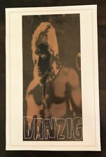 Rare Danzig from The Misfits Original Music Store Promo Poster