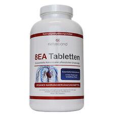 netzeband 8ea Tabletas - 8 esencial Aminoácidos Vegan 240 Tabletas Aminos