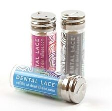 NEW Dental Floss   Refillable Canister Dental Lace   Biodegradable Plastic Free