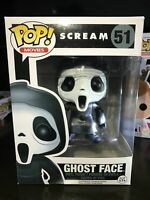 "Funko Pop Scream Ghost Face #51 Rare Vaulted Vinyl Figure ""Mint"" Collection Gift"