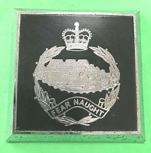 ROYAL TANK CORPS - PLASTIC CAR BUMPER GRILLE BADGE - armoured