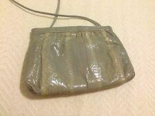 Vintage Pierre Cardin Shoulder Bag Snakeskin Leather