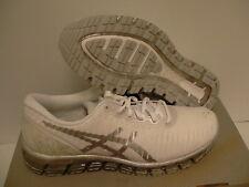 Mujer Asics Zapatillas para Correr Gel Quantum 360 Blanco Plata Nieve Tamaño 9