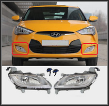 OEM Fog Lamp Light +Wiring 4p for Hyundai Veloster[12~16] 922012v000; 922022v00