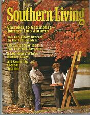 Southern Living September 1986 All-Southern 1986 Football Section